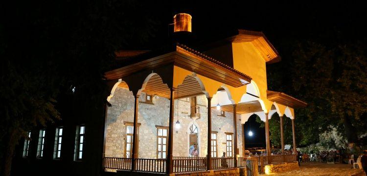 Antik Kenteki  Şaban Ağa Camisi ibadete açıldı