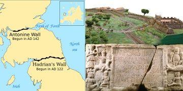 Antonine Duvarındaki ürkütücü Roma propagandası