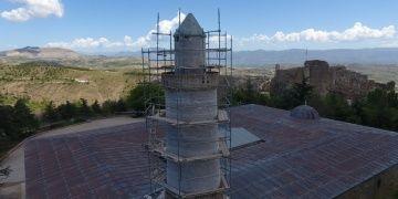 Harputun restore edilen Eğri Minaresi zamana meydan okuyacak