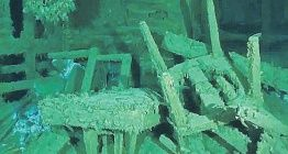Karadenizdeki batık gemiden yağlıboya tablo çıkarıldı