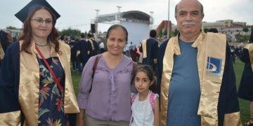 BŞEÜ arkeoloji bölümü 50lik iki öğrencisini mezun etti