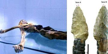 Buz Adam Ötzinin aletlerinin tomografisi çekildi