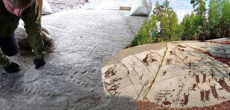 Kanozero petrogliflerinin yaşı arkeolojik keşifle ortaya çıktı