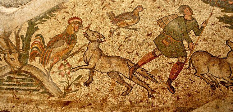 Ziyarete açılan Germanicia mozaiklerini 15 bin kişi gezdi