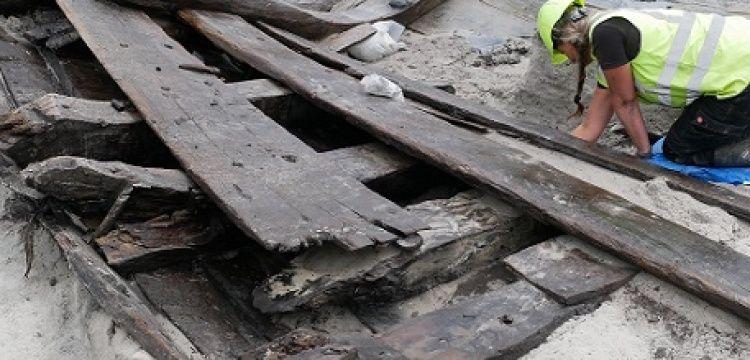 Danimarka'da 500 yıllık gemi enkazı bulundu
