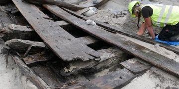 Danimarkada 500 yıllık gemi enkazı bulundu
