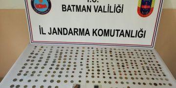 Batmanda tarihi eser görünümlü 326 sahte sikke yakalandı