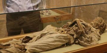 Niğde Müzesinin bin yıllık Sarışın Rahibe mumyası