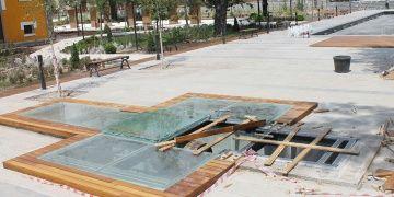 İstiklal Yolu Parkında haç şekli olur mu tepkisi plan değiştirtti!