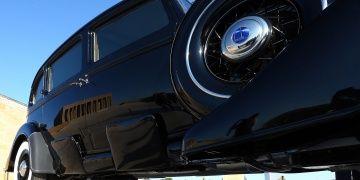 Atatürkün zırhlı makam otomobili restore edildi