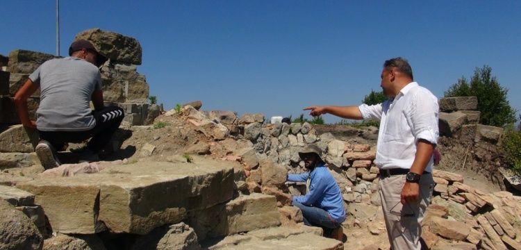Tieion Antik Kenti'nde 2018 yılı arkeoloji kazıları başladı