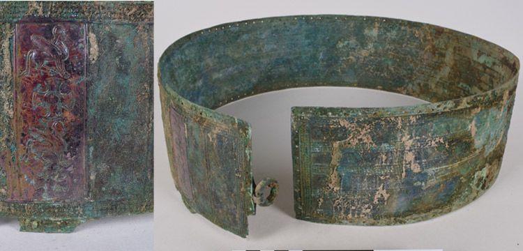Patnos'taki operasyonda 2700 yıllık Urartu savaş kemeri yakalandı