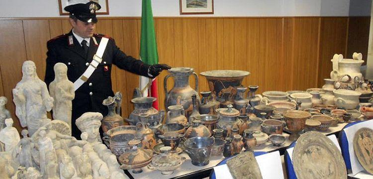 İtalyan polisinden tarihi eser mafyasına ağır darbe