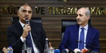 Numan Kurtulmuş Kültür Bakanlığını Mehmet Ersoya devretti