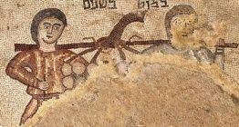 Hz. Musanın casuslarını betimleyen mozaik bulundu