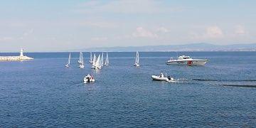 Karabigada yelkenler 2018 Troya Yılı aşkına açıldı