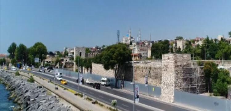 İstanbul'un metruk surları restore ediliyor