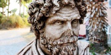 Soloi-Pompeiopoliste bulunan büst müzede sergilenecek