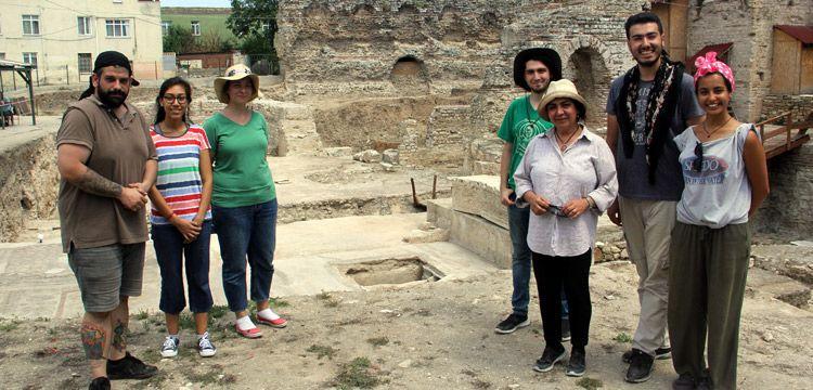 Sinop'taki Balatlar Arkeoloji kazılarında 5 kilise bulundu