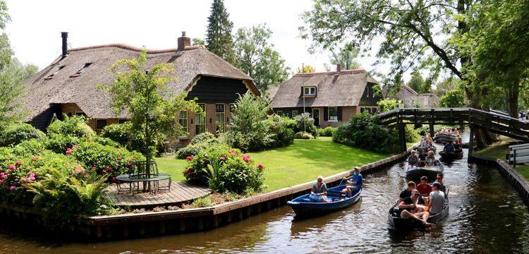 Giethoorn köyü: Hollanda'da Venedik manzaraları