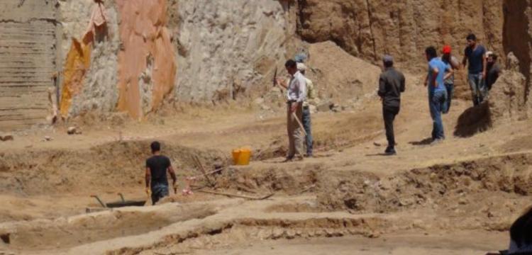 Mardin Müzesi Kızıltepe'de arkeoloji kazısı yapıyor