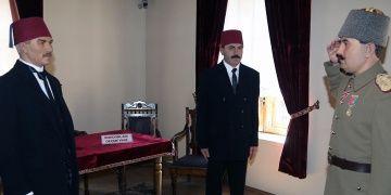 Erzurum Atatürk Evinde tarihi buluşma canlandırıldı