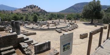 Kaunos Antik Kentinden çıkarılan tuz gözler için şifalıydı