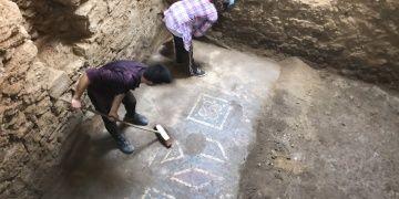Antiocheia Ad Cragumda arkeologlar yeni mozaikler keşfetti