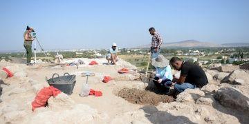 Kilisteki Oylum Höyükte 2018 arkeoloji kazıları başladı