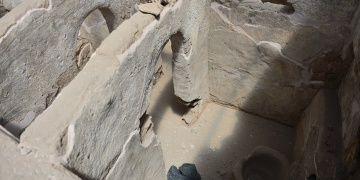 Harranda Emeviler devrinden kalma tuvaletler bulundu
