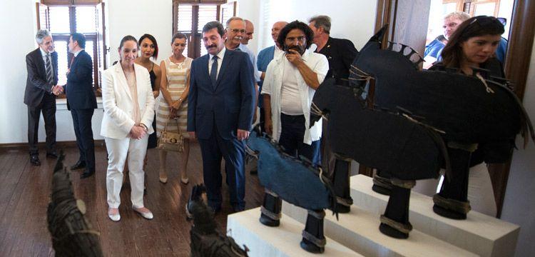 Düşler Ülkesi: Troya sergisi Çanakkale'de açıldı