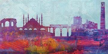 Adananın antik ve tarihi yerleri Film Festivali afişinde