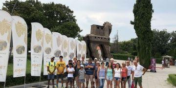 Midilli Adasından Troya Antik Kentine ziyaretçi akını