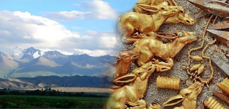 Sakalara ait höyükten 3 bin parça altın mücevher çıktı