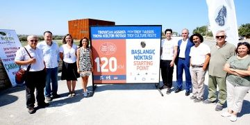 UNDP İyi Niyet Elçisi Mert Fırat Troya Kültür Rotasını gezdi