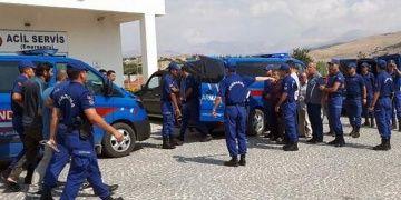 Antalya Jandarması defineci avına çıktı: 30 gözaltı