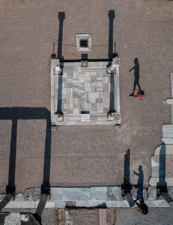 Fotoğraflarla Efes antik kentine görsel yolculuk