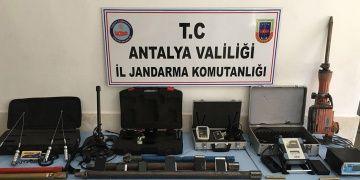Antalya, Muğla ve Erzincanda yakalanan 29 defineciden 16sı tutuklandı