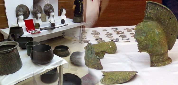 İstanbul'un 3 ilçesinde 237 parça tarihi eser yakalandı