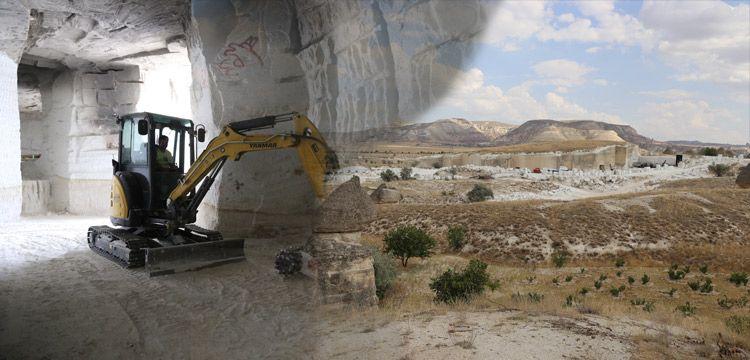 Kapadokya Müzesi, kayadan oyma doğal yer altı müzesi olacak