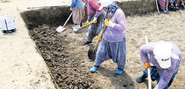 Trakyalı kadınların 5 yıldır ter döktüğü arkeoloji kazısı bitiyor