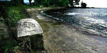 İznikte 900 yıllık tarihî sütun başlığı ortadan kayboldu
