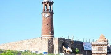 Saltuklu mirası Tepsi Minare restorasyona hazırlanıyor
