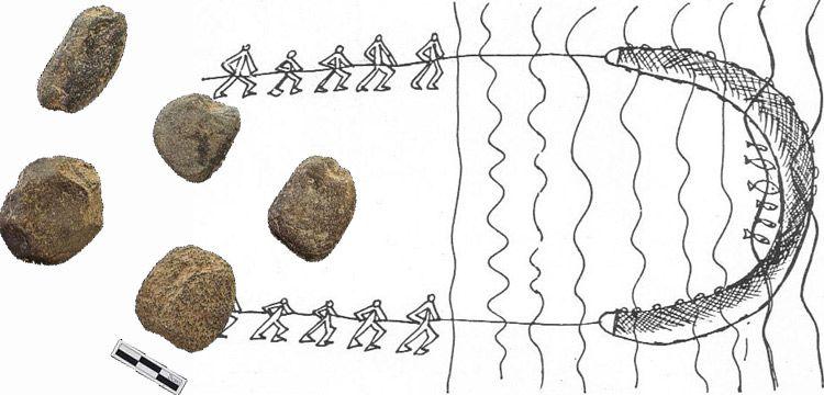 Dünyanın en eski balık ağı ağırlıkları Güney Kore'de bulundu