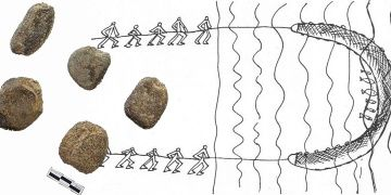 Dünyanın en eski balık ağı ağırlıkları Güney Korede bulundu