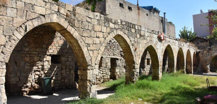 Kamulaştırma sorunu çözülen tarihi Tuz Hanı restore edilecek