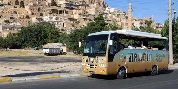 Mardinde turistlere ücretsiz tur otobüsü tahsis edildi