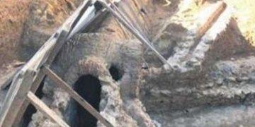 Fenerbahçede apartmanın temelinden Bizans kalıntıları çıktı