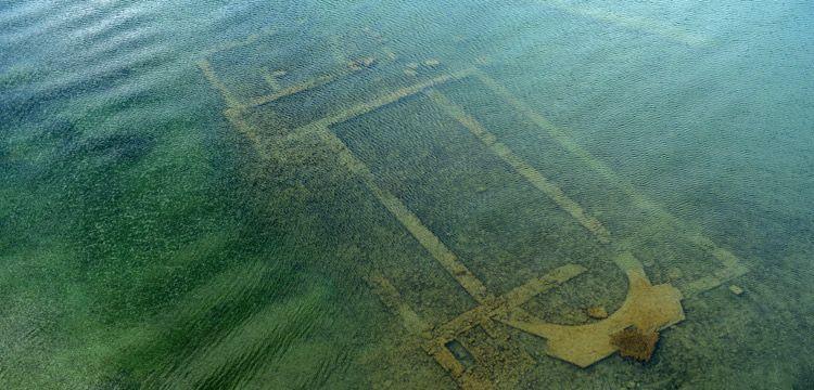 Batık bazilika Türkiye'nin su altı arkeoloji müzesi olacak