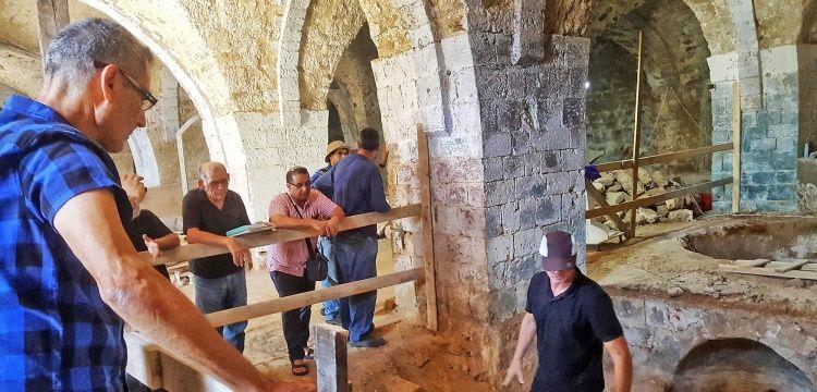 Yafa şehrinde Osmanlı devri sabun fabrikası ve mahzenler bulundu